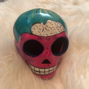 Mexico day of the dead skull